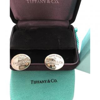 Tiffany Silver Cufflinks