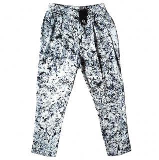 New Alexander McQueen McQ silk pant