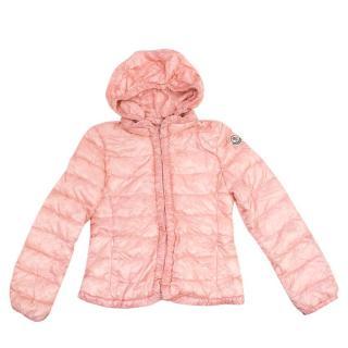 Moncler Girl's Pink Coat