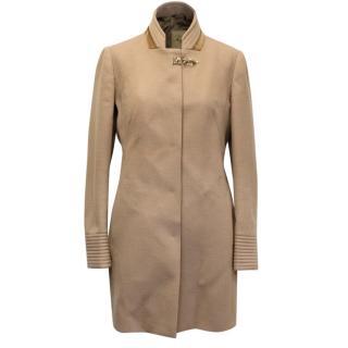 Fay Wool Camel Coat