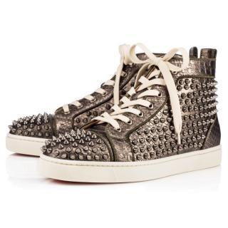 Christian Louboutin Orlato Flat Python sneakers