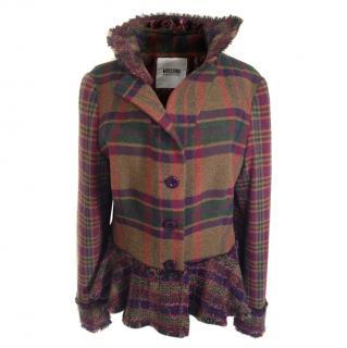 Moschino cheap &chic checked jacket