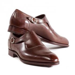 Barker Black Formal Brown Shoes