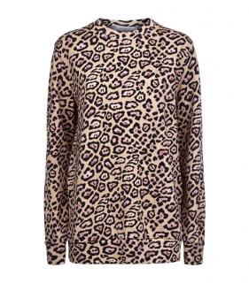Givenchy Jaguar Print Sweater Sweatshirt