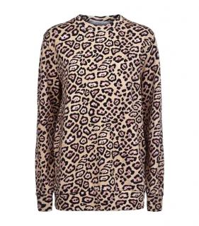 Givenchy Jaguar Print Sweater Sweatshirt