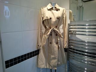 Joseph Full Length Trench Coat - Beige Size 36
