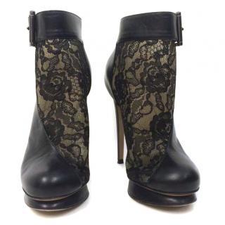 NICHOLAS KIRKWOOD Lace Ankle Boots 4 37
