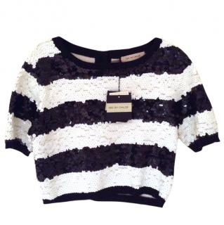 See by Chloe sequin top