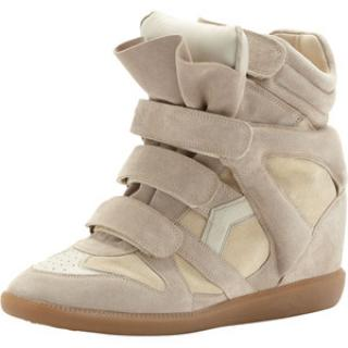Isabel Marant Bekket High-Top Suede Sneakers