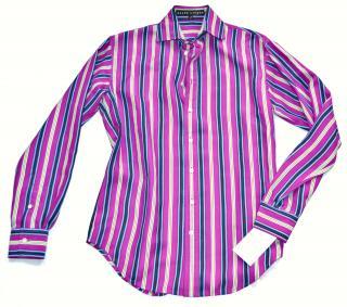 Ralph Lauren Black Label striped silk shirt