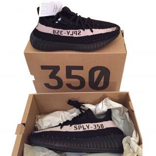 Adidas Yeezy Boost 350 V2  U.K 7.5 Black/White