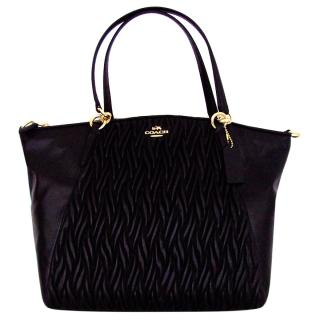 Coach Kelsey Black Satchel