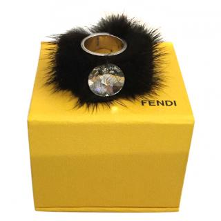 Fendi Limited Edition Fur Ring