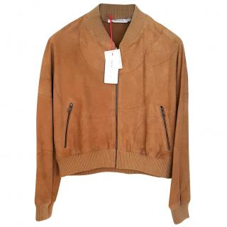 New See by Chloe soft goat leather jacket
