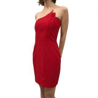 Michelle Mason red dress