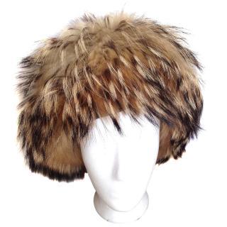 Farina Rosa fox fur hat