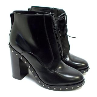 Dolce & Gabbana 'Lawrence' Black Ankle Boots
