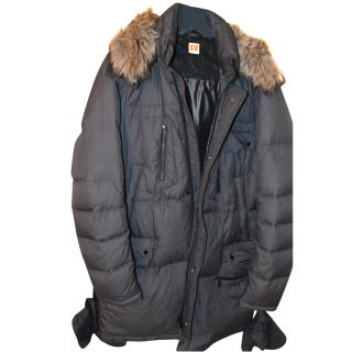Hugo Boss Orange Label Padded Long Parka Jacket