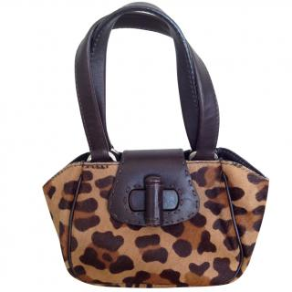 Prada pony style calfskin mini bag