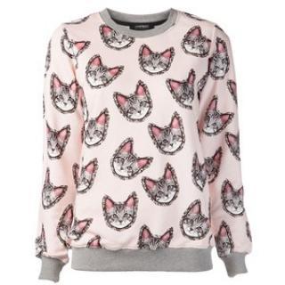 Markus Lupfer Meow Cat Sweatshirt