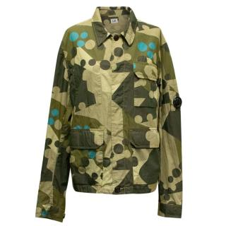 CP Company Khaki Camouflage Jacket