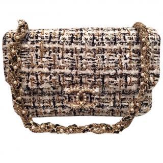Chanel Tweed & Pearl Bag
