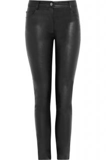 Karl Lagerfeld  Black Pacey Faux Leather Skinny Trousers
