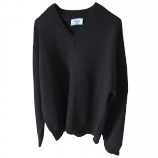 Prada men's alpaca sweater