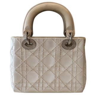 Ltd Edition Mini Lady Dior Beaded Bag