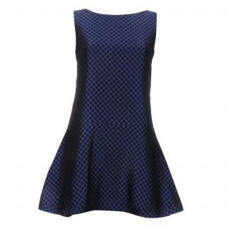 Osman Chequered Brocade Dress