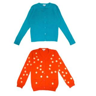 C de C Girl's Cardigan Set