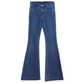 Stella McCartney Blue Flared Jeans