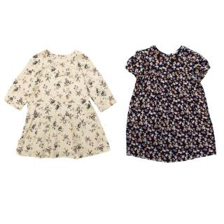 Bonpoint Girl's Floral Dress Set