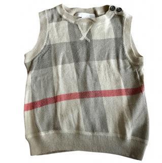 Burberry kids vest