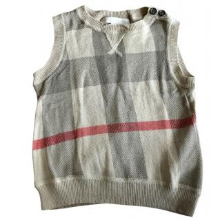 Burberry kids vest