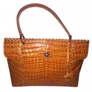 Bottega veneta  crocodile Tina Bag