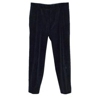 Boss Selection Hugo Boss Navy Corduroy Trousers