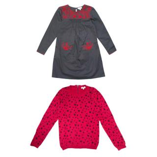 C de C Girl's Dress and Jumper Set