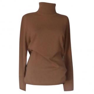 Max Mara roll neck jumper 100% virgin wool - Size XL