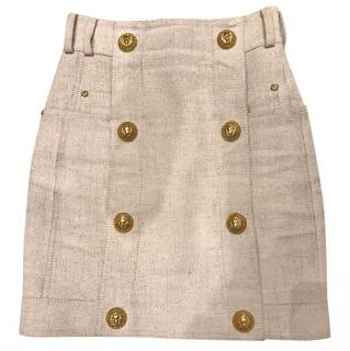 Balmain high waisted skirt