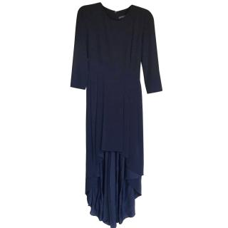 Midnight Blue Alexander MqQueen Dress