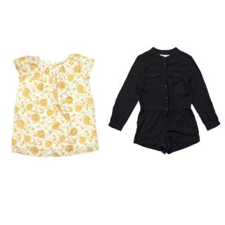 Bonpoint Girl's Dress and Playsuit Set