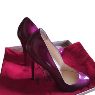Christian Louboutin pink pumps