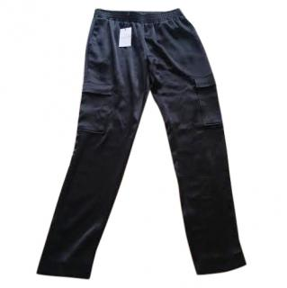 Claudie Pierlot satin dressy cargo pants