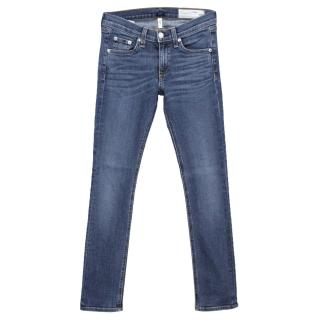 Rag & Bone Light Blue Skinny Jeans