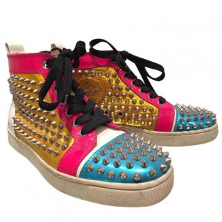 Christian Louboutin spike trainers