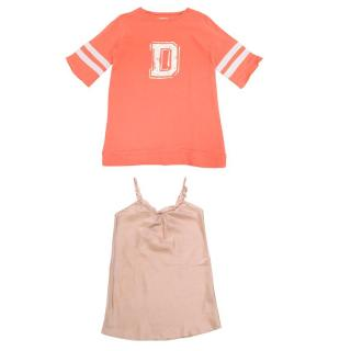 Duooud and Hartford Girl's Jumper and Dress Set