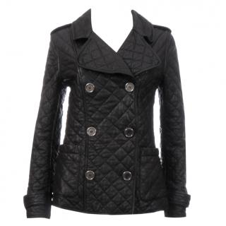 Burberry Brit Quilted Leather Jacket