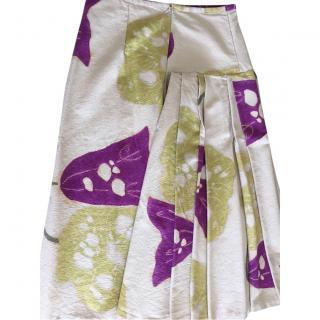 Vintage silk skirt by Dries Van Noten