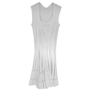 Alain white dress